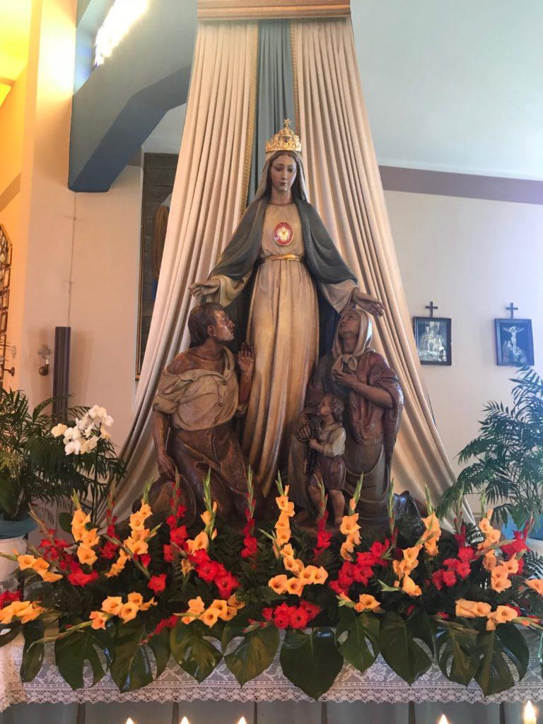 Siamo costretti DOMENICA 10 MAGGIO, a celebrare la festa patronale della B.V Madre delle Genti in diretta streaming.